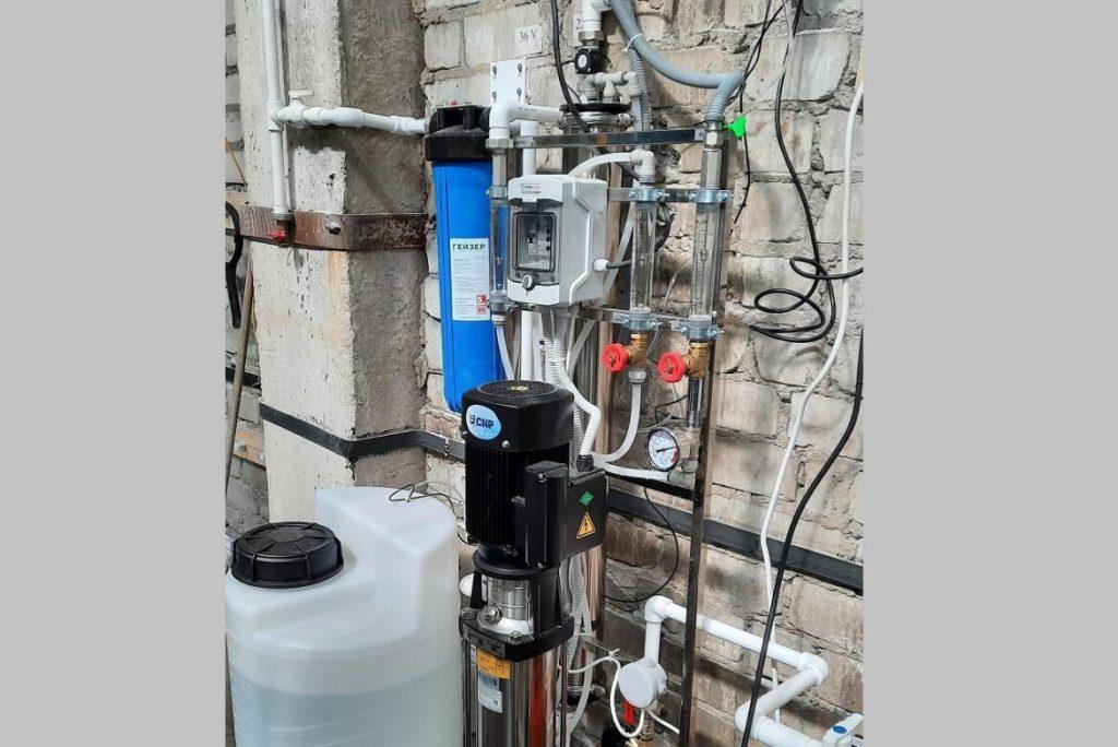 03.03.2021 Вода для охлаждения оборудования